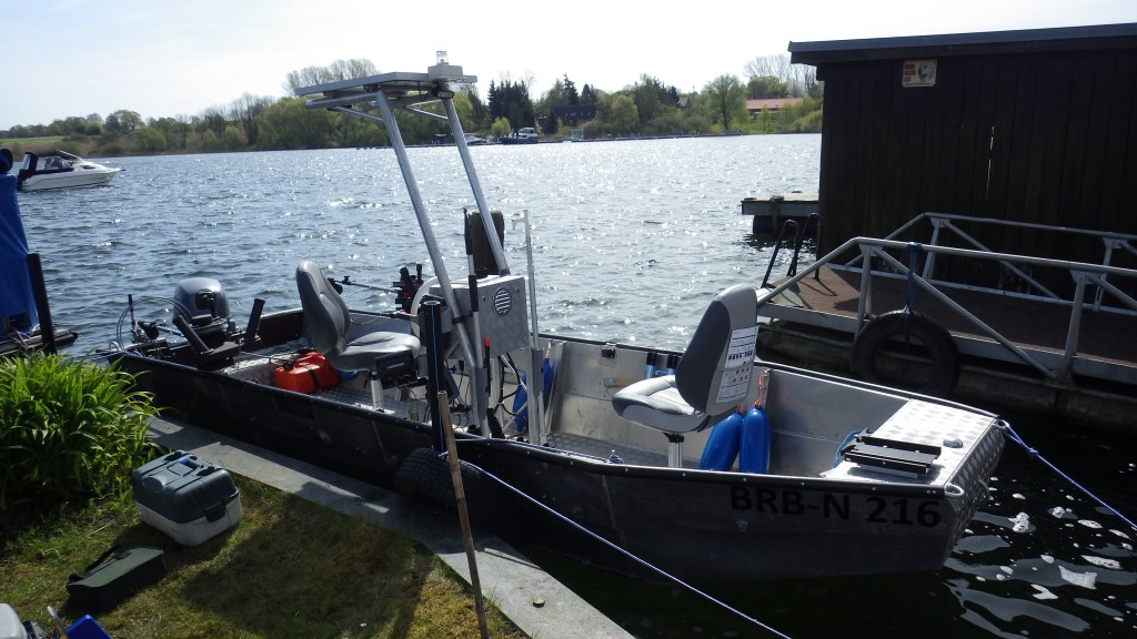 Lorsby 480B Trollingboot Boot