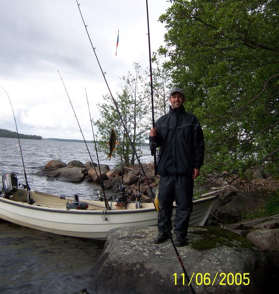 BOLMEN-TROLLING 2005 Smaland Posenangeln auf Barsch