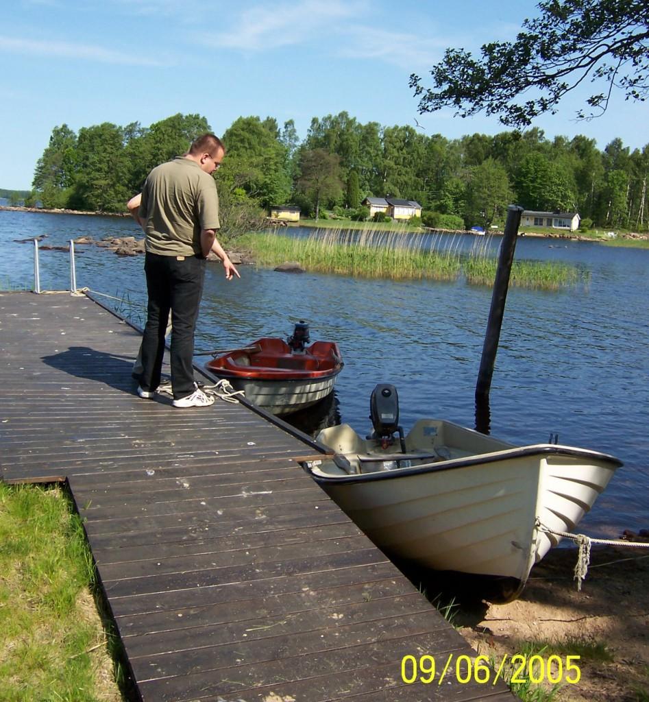 BOLMEN-TROLLING 2005 Smaland Ferienhaus in Tannåker Trollingboote Mietboot Leihboot