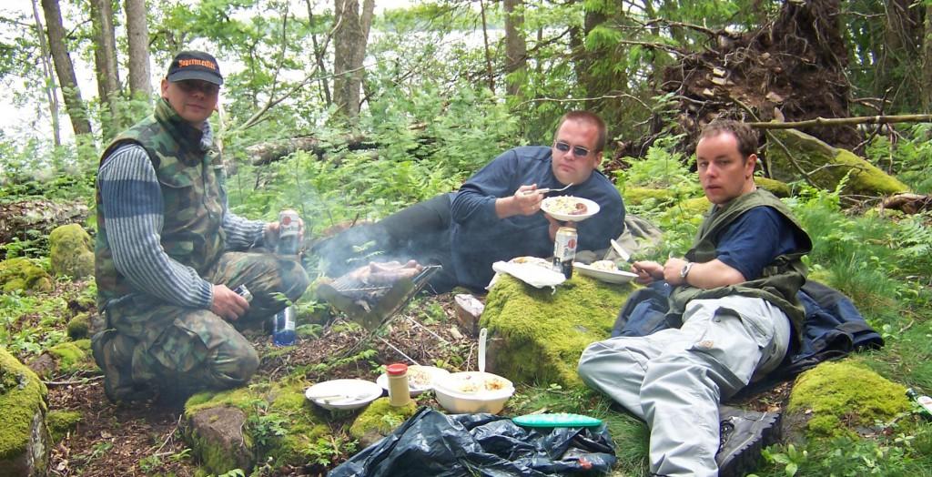 ALLEMANNSRÄTTEN - JEDERMANNSRECHT Picknick in Schweden Angelpause