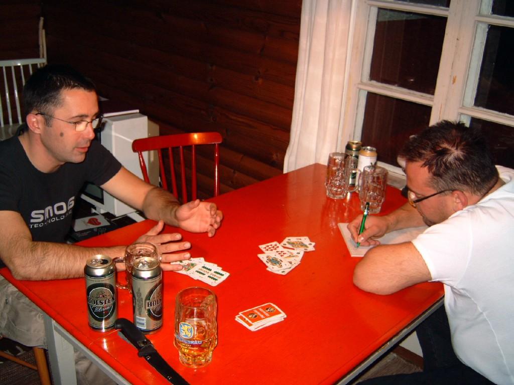 KÖSEN-TROLLING 2003 Doppelkopf