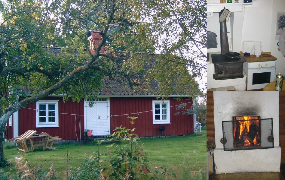 KÖSEN-TROLLING 2003 Ferienhaus Kamin Kochkiste