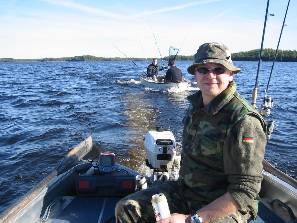 KÖSEN-TROLLING 2003 Motorboot abschleppen
