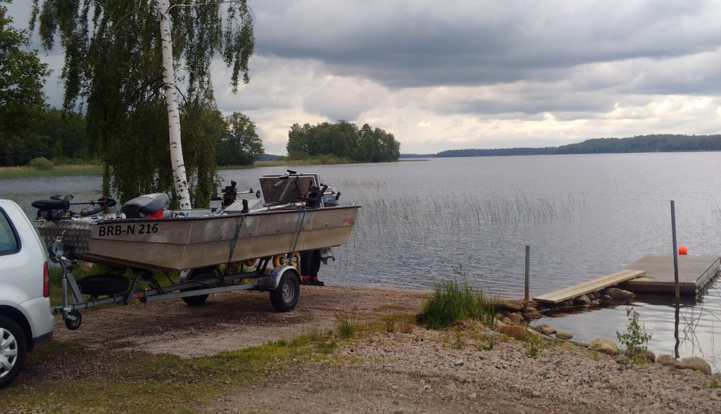 KÖSEN-TROLLING 2015 Boot slippen Slipstelle Lorsby 480b