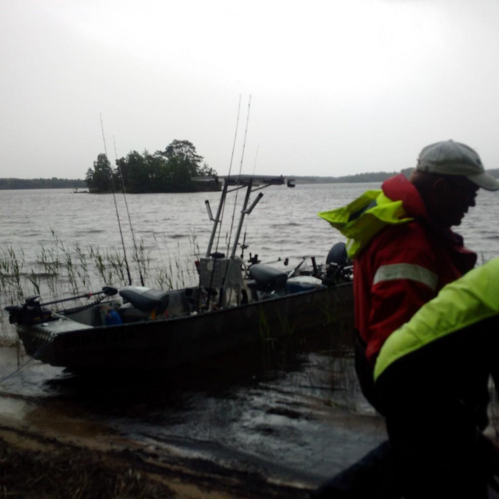 KÖSEN-TROLLING 2015 Lorsby 480b Trollingboot Gewitter-Stop
