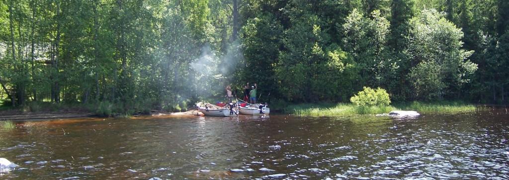 BOLMEN-TROLLING 2006 Angelboot Trollingboot Bolmsö Ferienhaus am Bolmen Hecht Zander Barsch