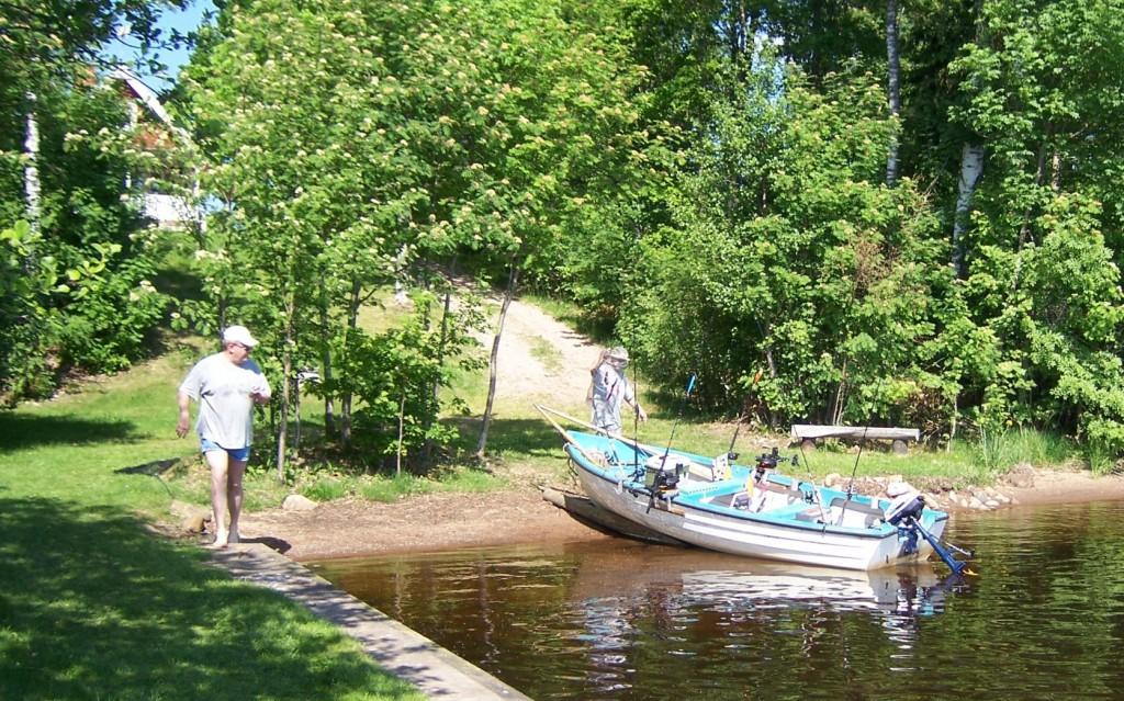 BOLMEN-TROLLING 2006 Angelboot Trollingboot Bolmsö Ferienhaus am Bolmen