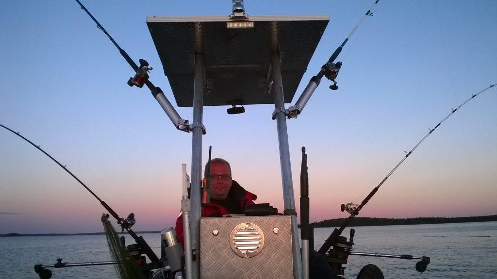 BOLMEN-ZANDER-TROLLING 2015 Ferienhaus Bolmen Löckna Lorsby 480B Trollingboot