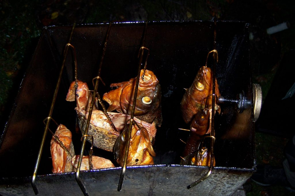 ÅSNEN-TROLLING 2010 Zander Hecht Barsch räuchern Räucherfisch
