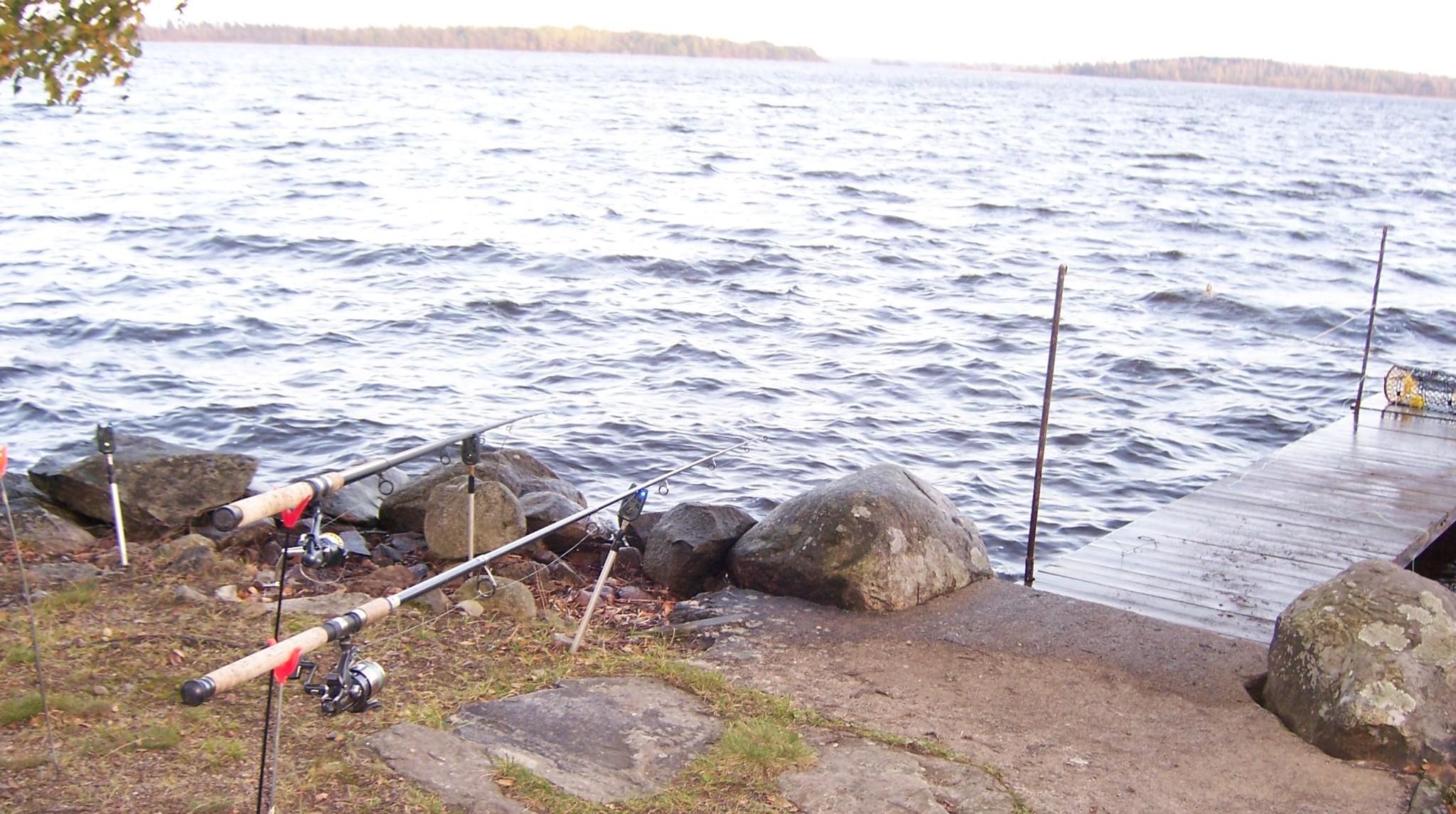 ÅSNEN-TROLLING 2010, Grundruten sind draußen