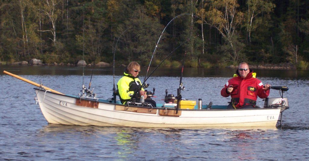 ÅSNEN-TROLLING 2010, Angelboot Leihboot Trollingboot Downrigger