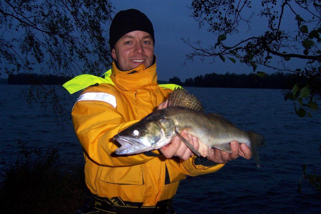 ÅSNEN-TROLLING 2010, Downrigger Zander
