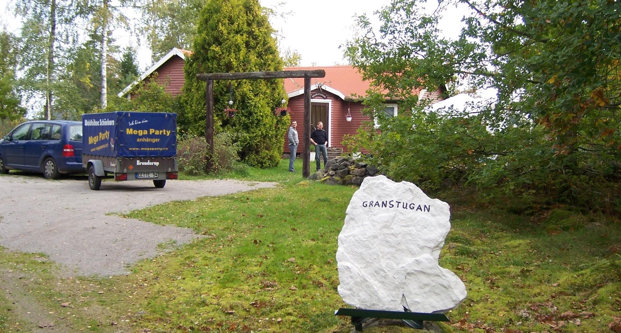 ÅSNEN-TROLLING 2010, Granstugan auf Borgön