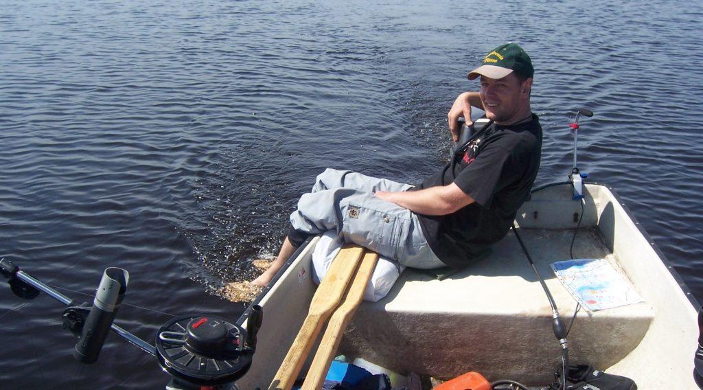 ÅSNEN-TROLLING 2011, Trollingboot Ausrüstung, Downrigger, Minn Kota, Downrigger
