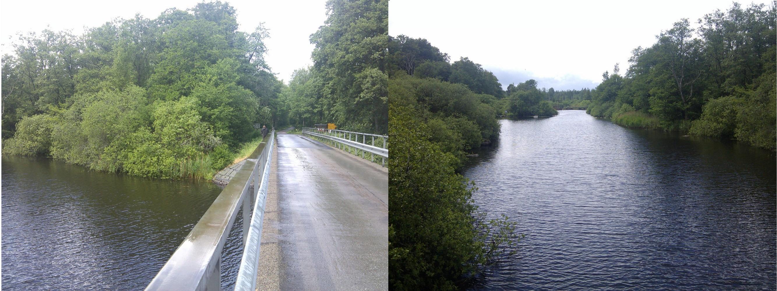 Der Mörrum - Abfluss des Åsnen , Schwedens bekannter Lachsfluss
