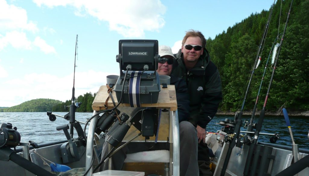 ÖRESJÖN-TROLLING 2009 Trollingboot Lorsby 480b