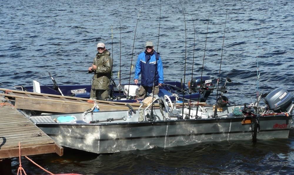 ÖRESJÖN-TROLLING 2009 Trollingboote richtig bestücken
