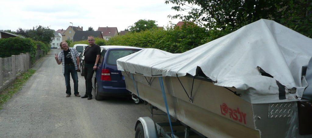 ÅSNEN-TROLLING 2012, Lorsby 480B, Borgon, Zander Hecht schleppen