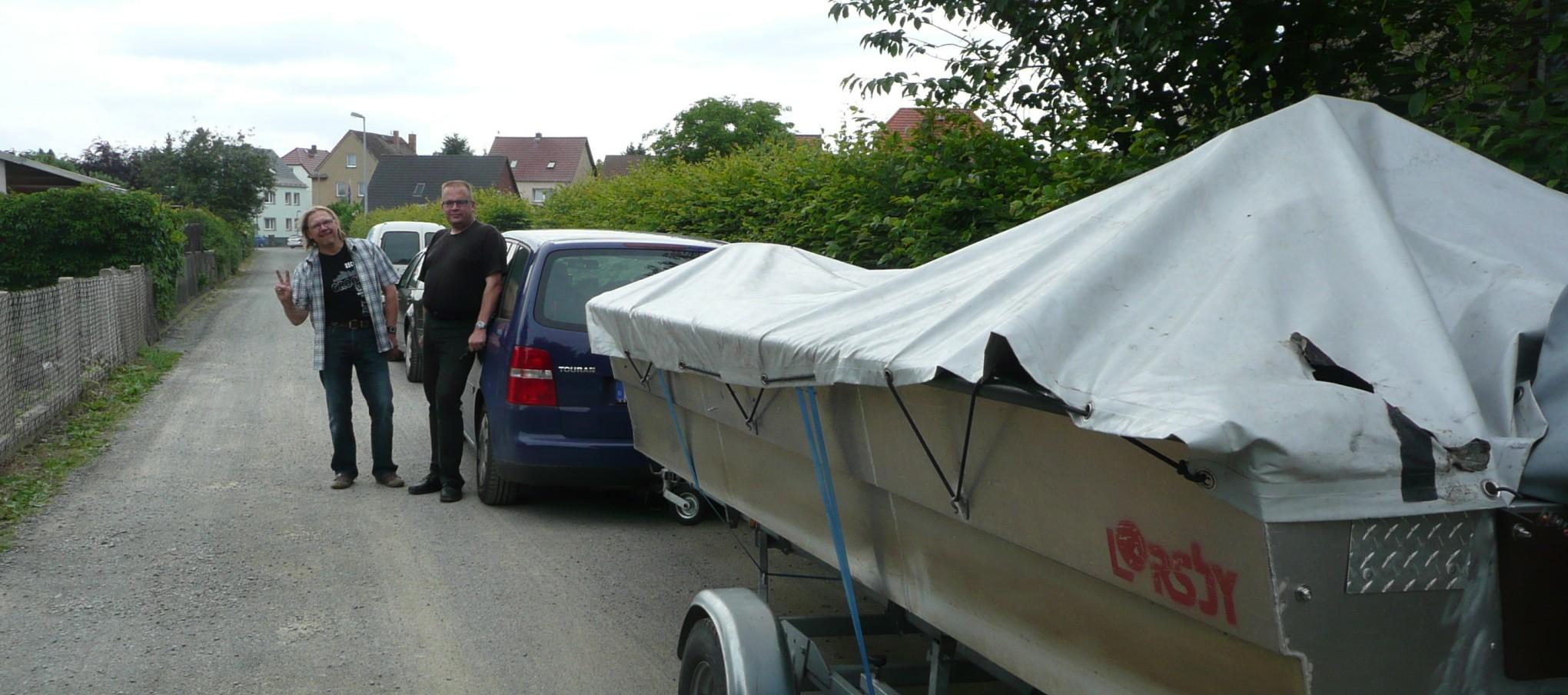ÅSNEN-TROLLING 2012 Zander, Trollingboot