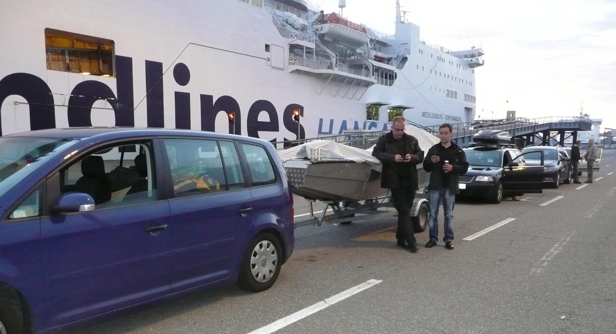 ÅSNEN-TROLLING 2012 Fähre Rostock