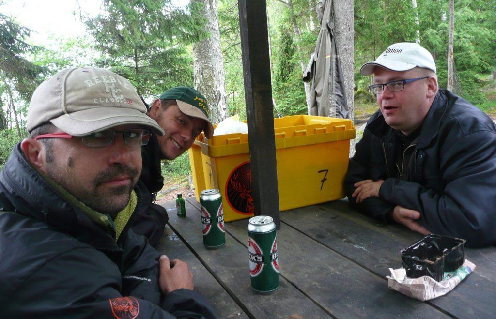 ÅSNEN-TROLLING 2012, Trolling-Boot Downrigger, Urshult Smaland Rastplatz Zander Hecht schleppen