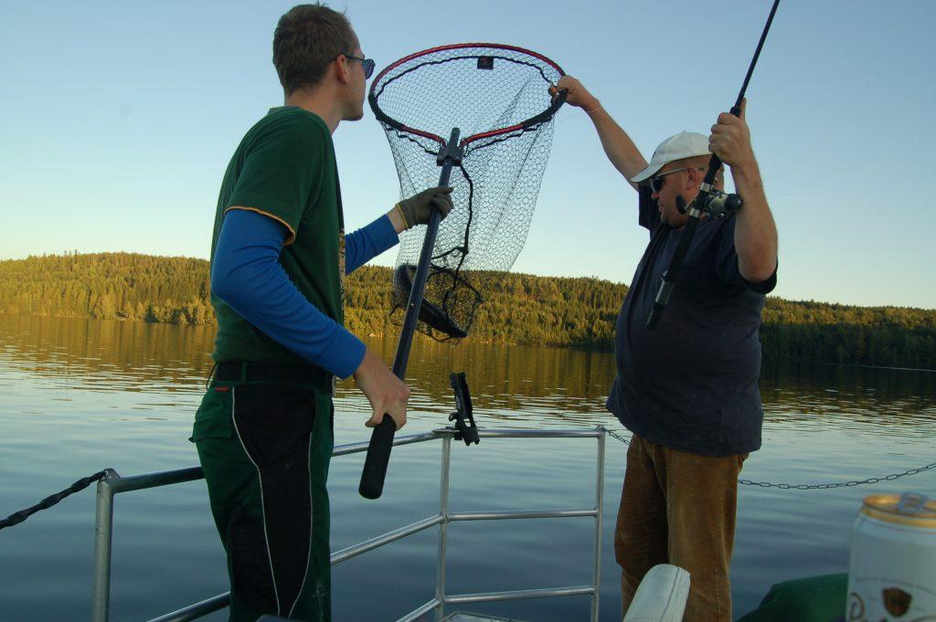 ÖRESJÖN-TROLLING 2014/2015 Hecht Zander catch & release