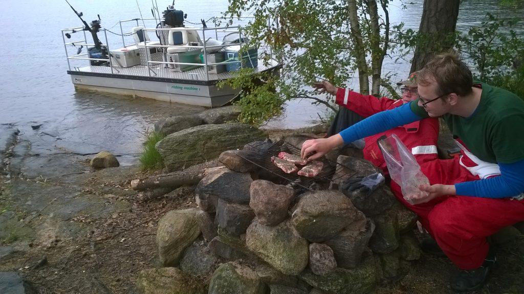 ÖRESJÖN-TROLLING 2014/2015 Trollingboote Downrigger Lorsby Katamaran fishing machine