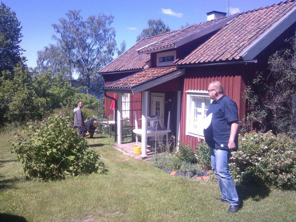 SOMMEN-TROLLING 2014 Ferienhaus