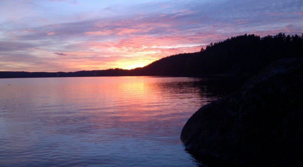 Sommen Sommensee Sonnenuntergang Sunset