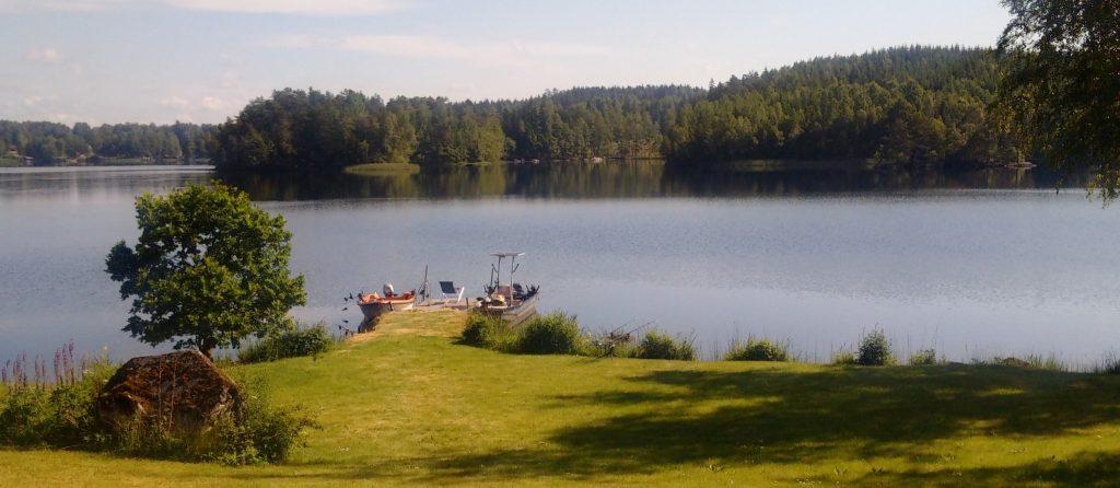 NÖMMEN Bootssteg Ferienhaus