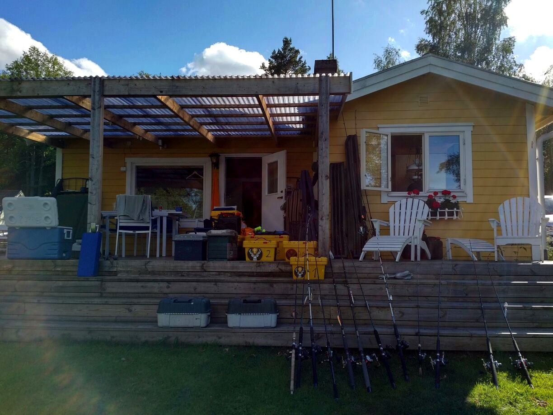 Nömmen-Trolling 2017, Ferienhaus im Norden des Sees