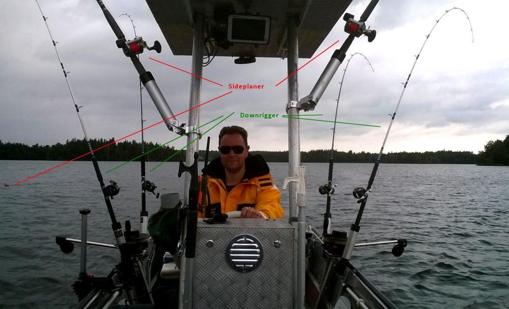 Nömmen-Trolling 2017, full rigged trollingboat lorsby 480b