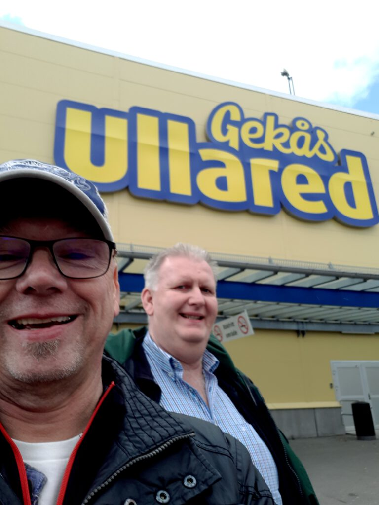 Fegen Gekas in Ullared