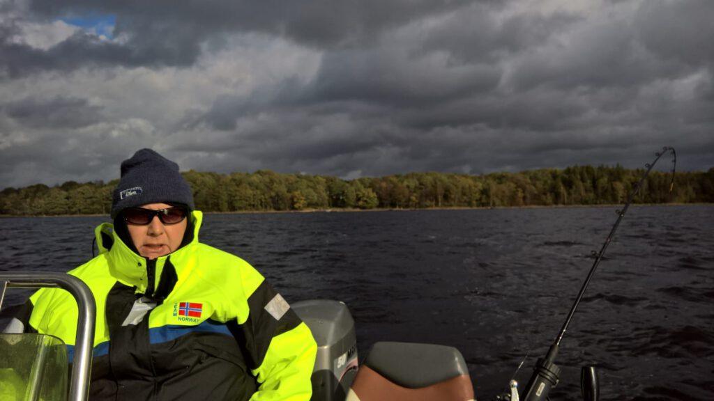 Fegen Wetter Trolling angeln