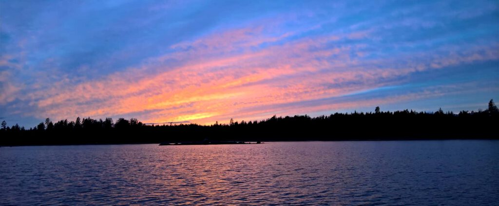 Fegen Wetter Sonnenuntergang