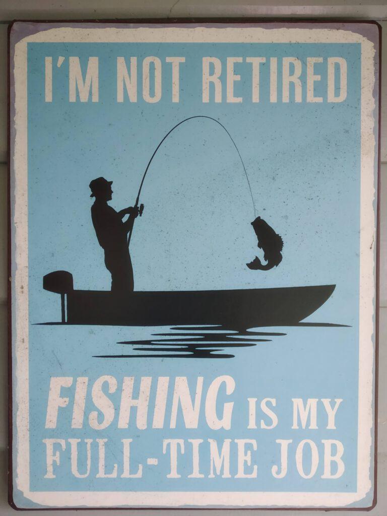 Schweden Angler-Motto